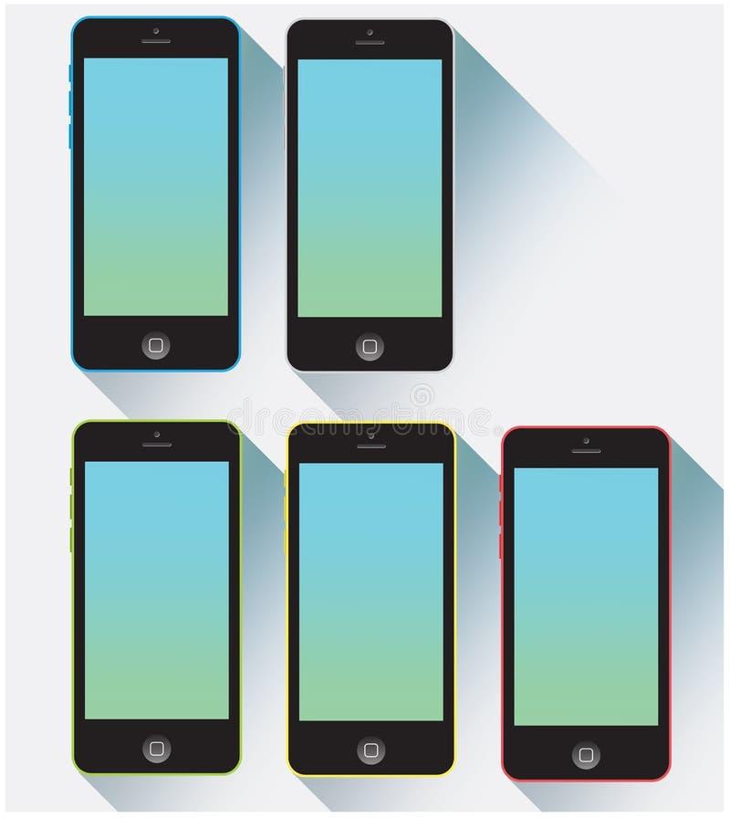 Colore di Iphone 5c royalty illustrazione gratis
