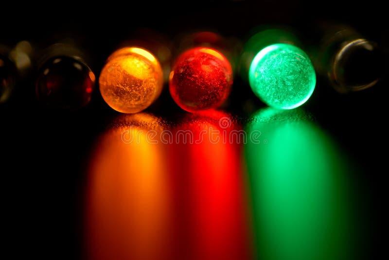 Colore LED fotografia stock
