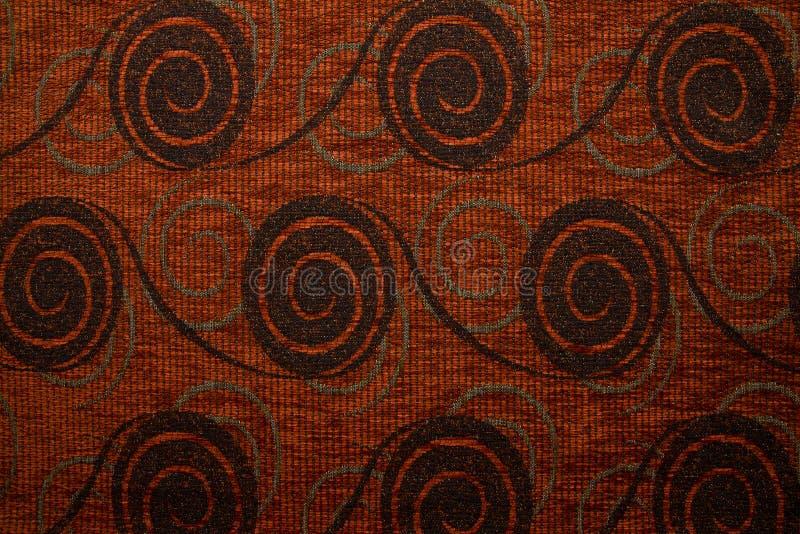 Colore marrone della ruggine di Anemon 05 di struttura del tessuto di tessuto immagine stock
