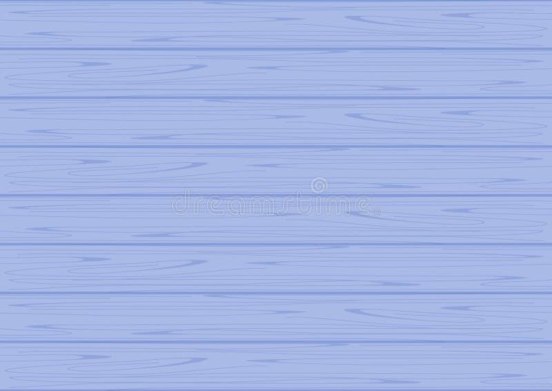 Colore pastello blu di struttura di legno per fondo, morbidezza pastello di colori blu di legno del fondo, struttura del blu di l illustrazione di stock