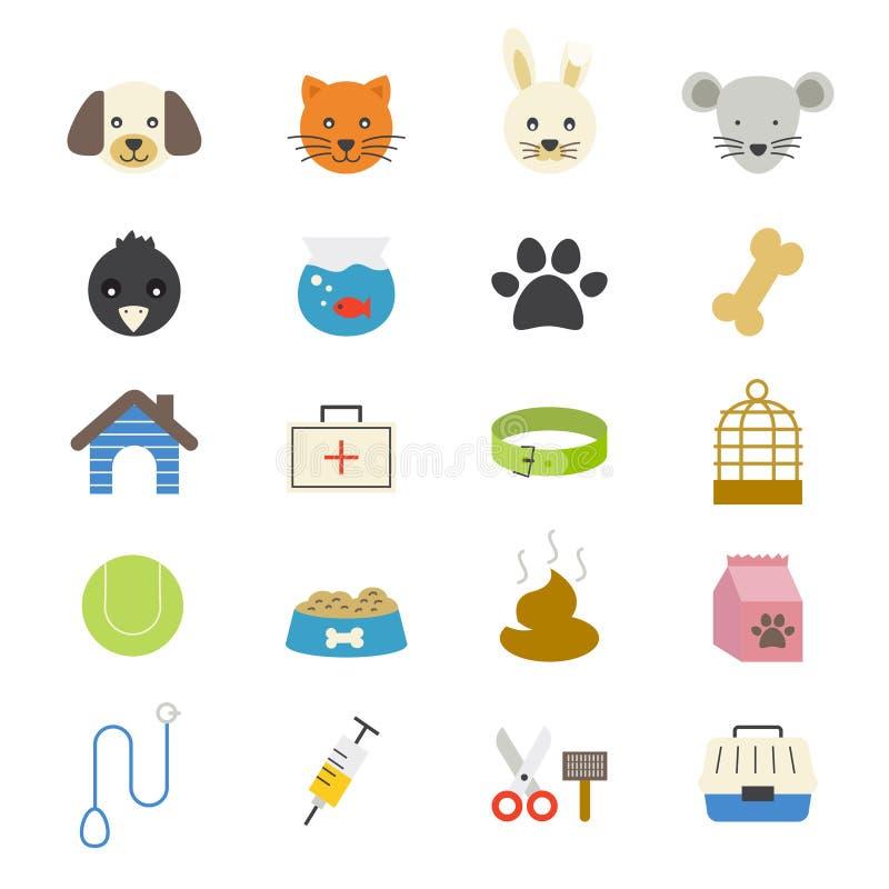 Colore piano delle icone dell 39 animale domestico for Disegno di piano domestico