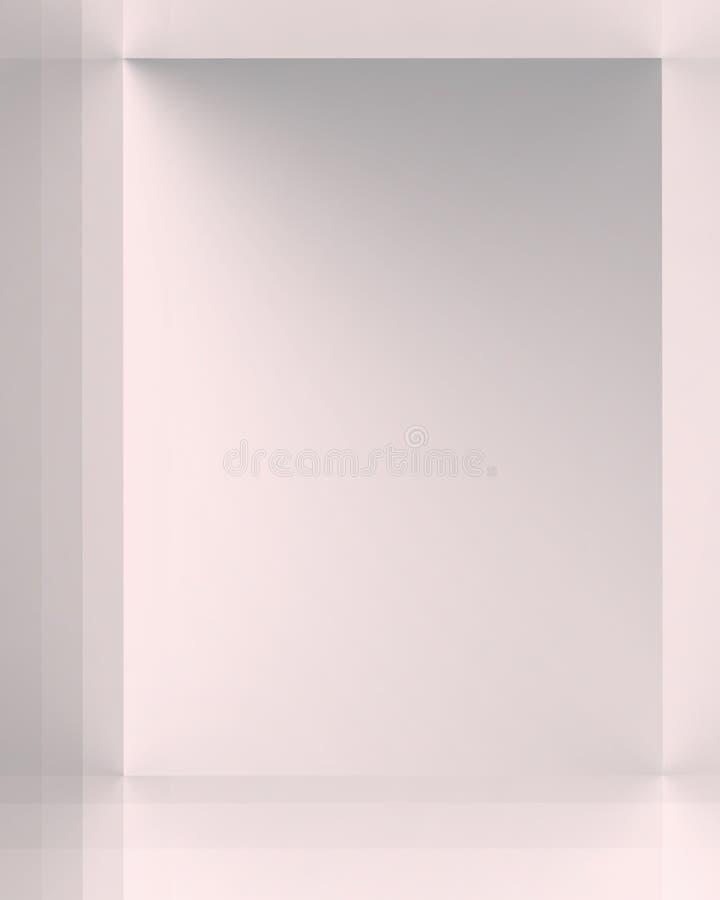 Colore rosa d'argento illustrazione vettoriale