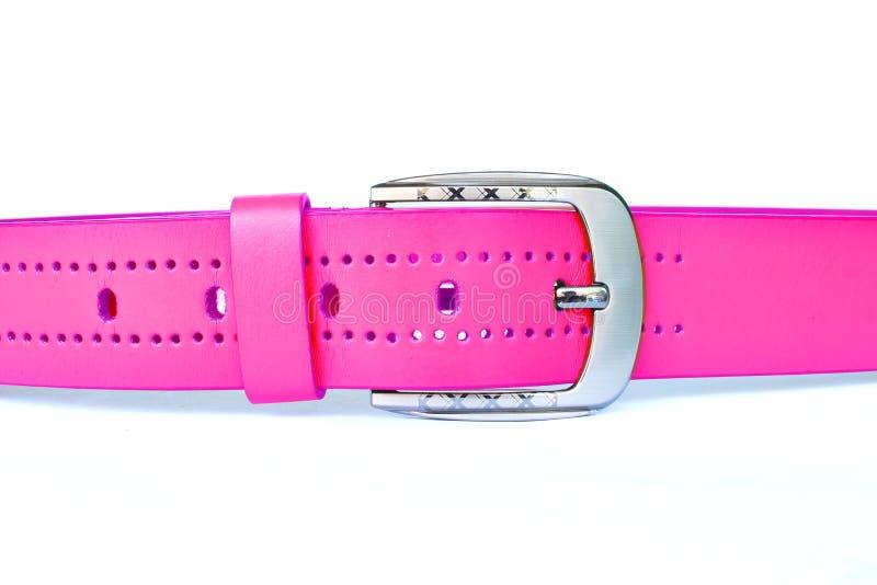 Colore rosa della fascia fotografie stock libere da diritti