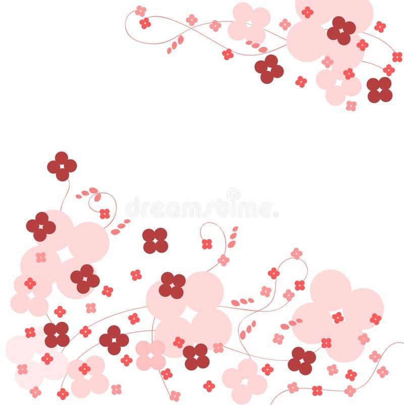 Colore rosa della priorità bassa del fiore immagini stock