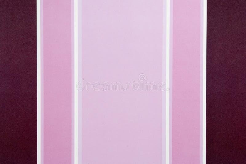 Colore rosa e priorità bassa a strisce rossa fotografia stock