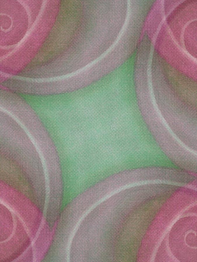 Colore rosa terroso degli ambiti di provenienza della tela di canapa fotografie stock