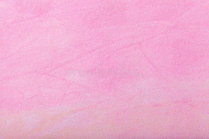 Colore rosso-chiaro del fondo di astrattismo Pittura multicolore sulla tela Frammento di materiale illustrativo contesto di strut fotografie stock libere da diritti