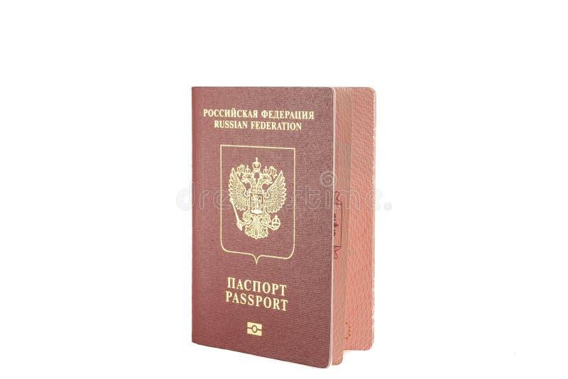 Download Colore Rosso Del Passaporto Con Un Emblema Dell'aquila Reale Immagine Stock - Immagine di occidentale, isolato: 56892371