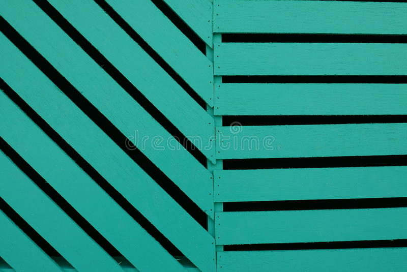 Colore verde di legno fotografie stock