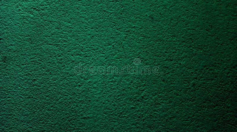 Colore verde scuro astratto con il fondo asciutto approssimativo di struttura della parete immagine stock