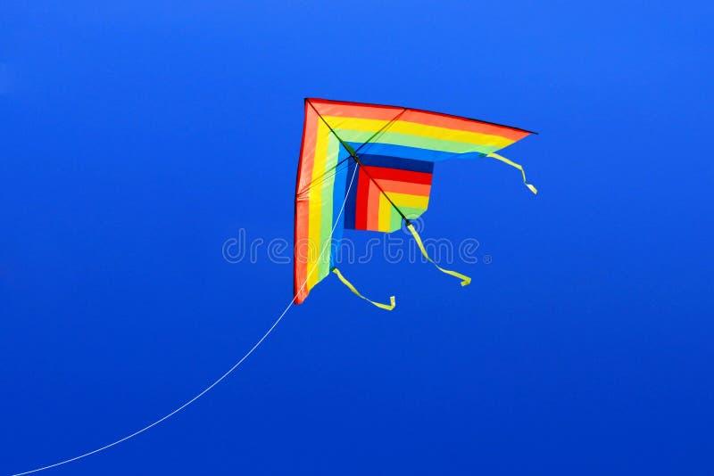 Colorea cometas fotografía de archivo