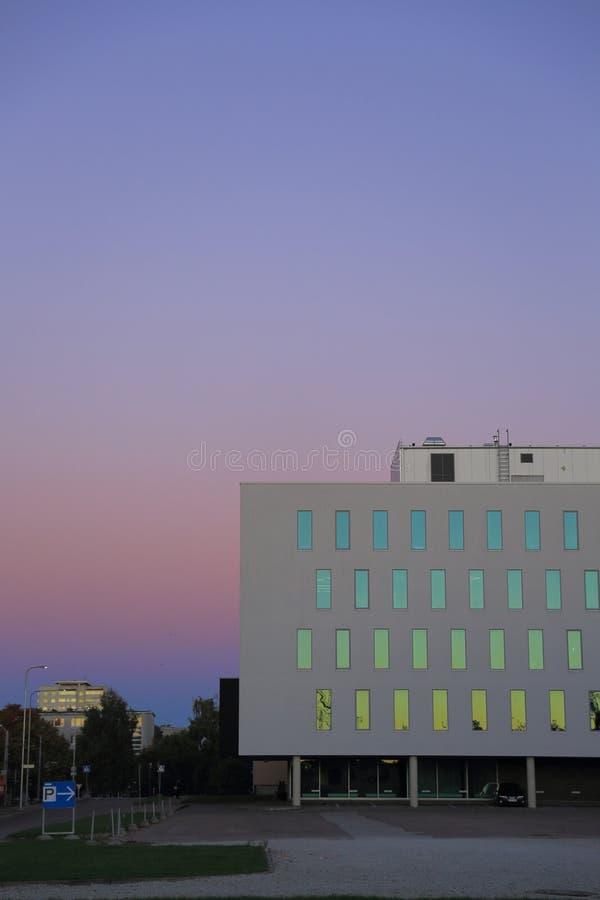 Colorea reflexiones imagenes de archivo