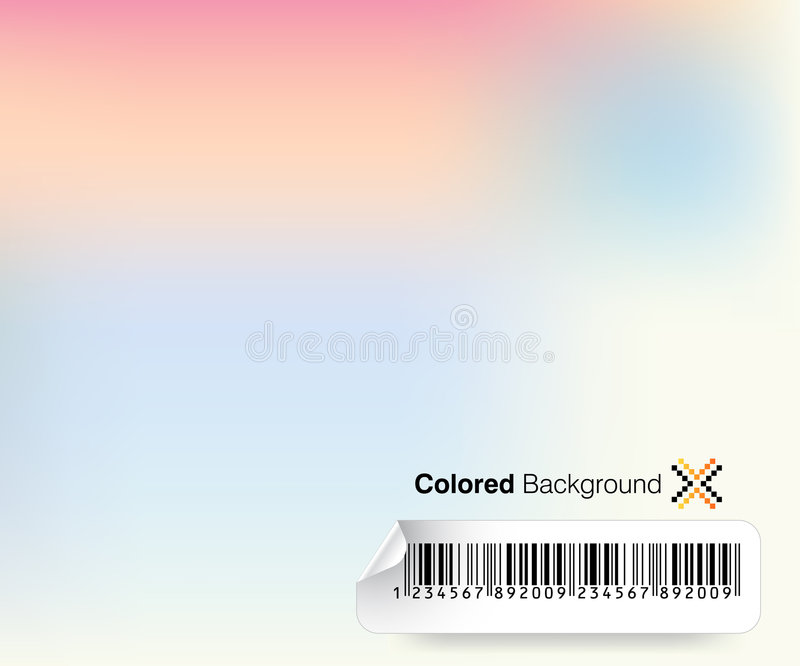 Colored Background royalty free illustration
