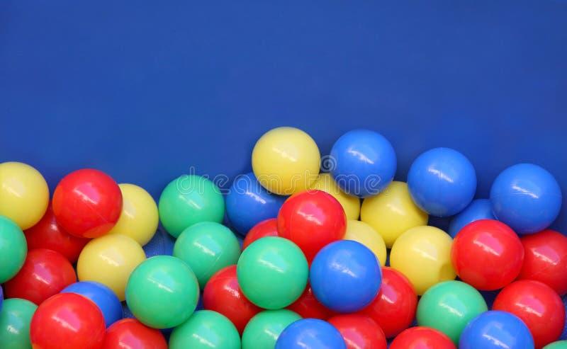 Colored balls stock image