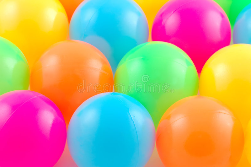 Download Colored balls. stock image. Image of party, close, colour - 2321019