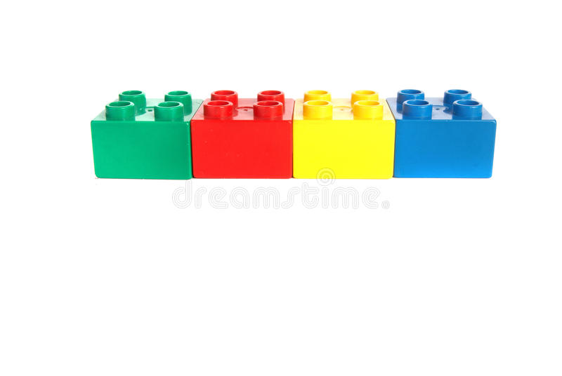 Colored blocks royalty free stock photography