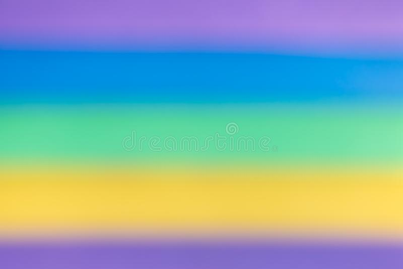 Colored blurred background in gradient. flowing transitions royalty free stock images