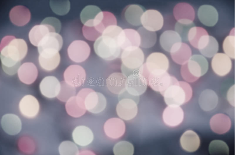 Colored bokeh background stock photo