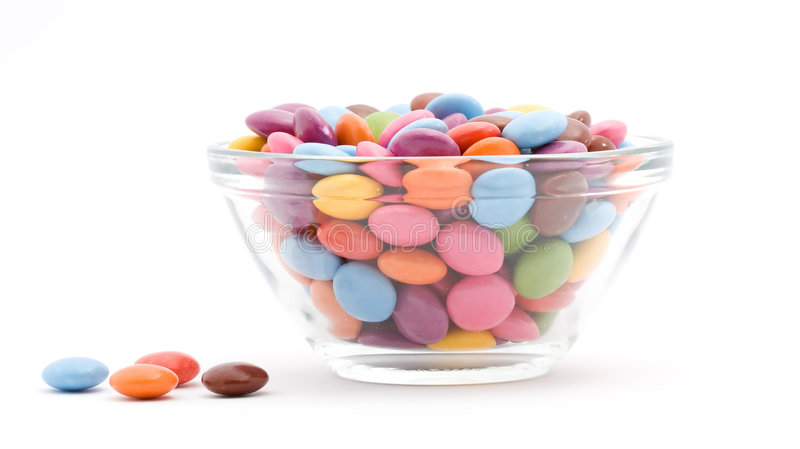 Download Colored bonbons stock photo. Image of colors, calories - 7184754