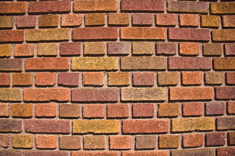 Download Colored Bricks stock photo. Image of brown, wall, construction - 3400690