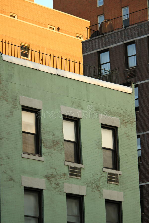 Colored Buildings Stock Images