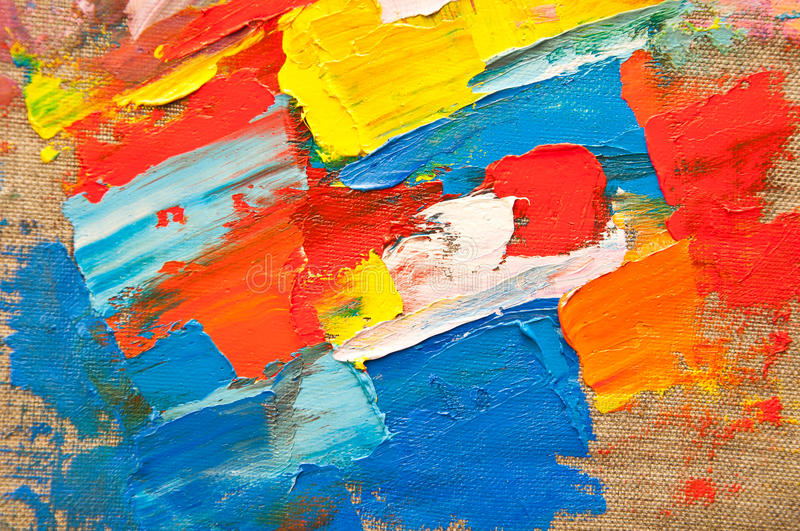 Colored Canvas royalty free stock photography