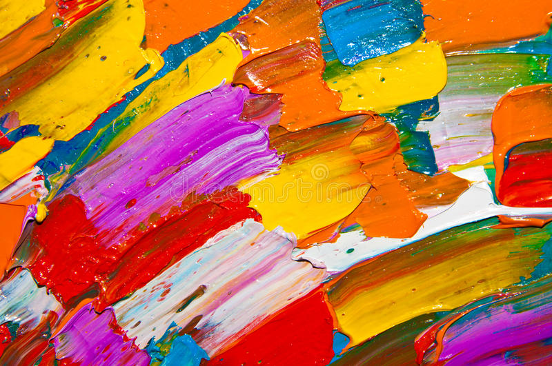 Colored Canvas royalty free stock images