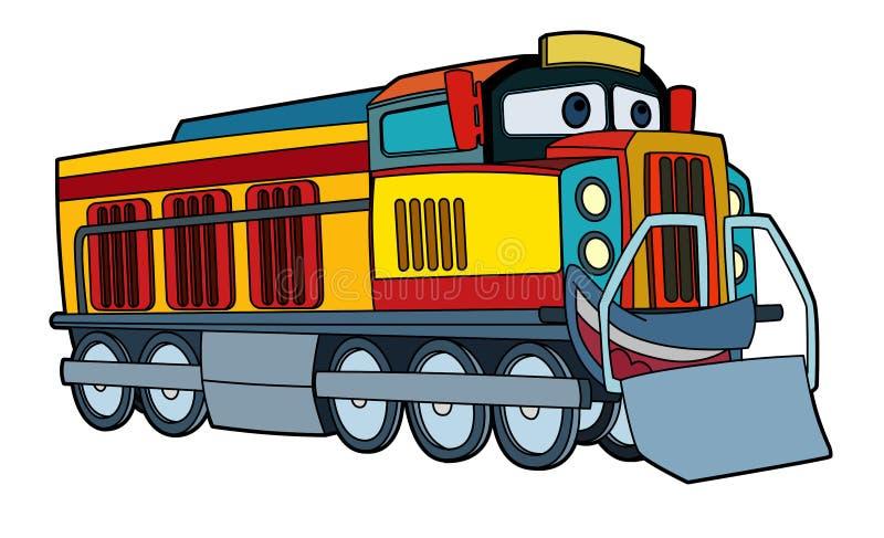 Colored car - illustration for the children vector illustration
