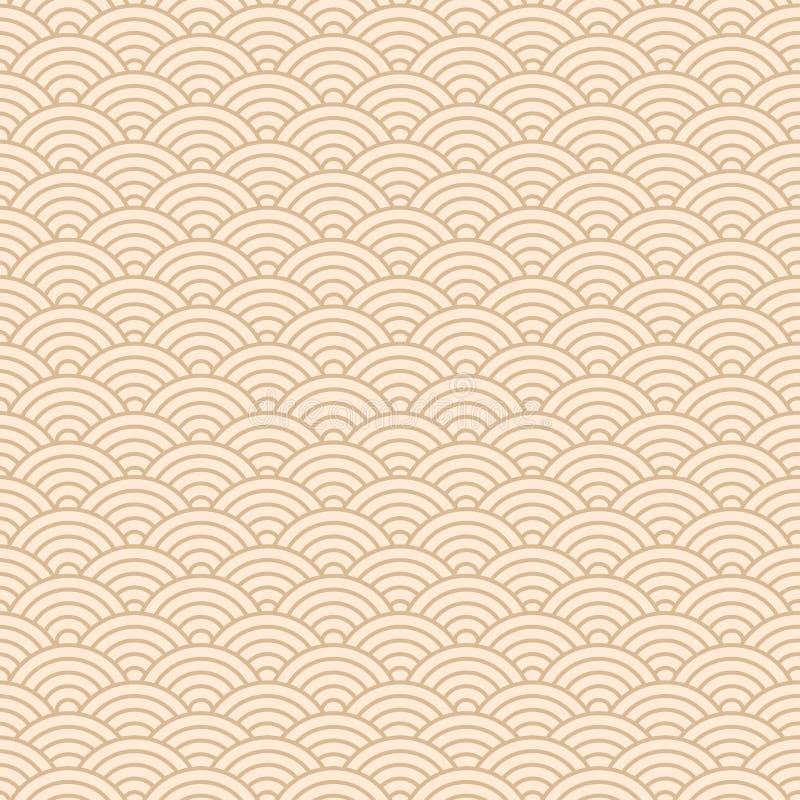 Chinese seamless pattern. Vector illustration stock illustration