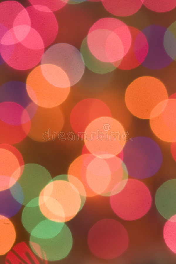 Download Colored Christmas Lights, Celebration Background Stock Photo - Image: 6982630