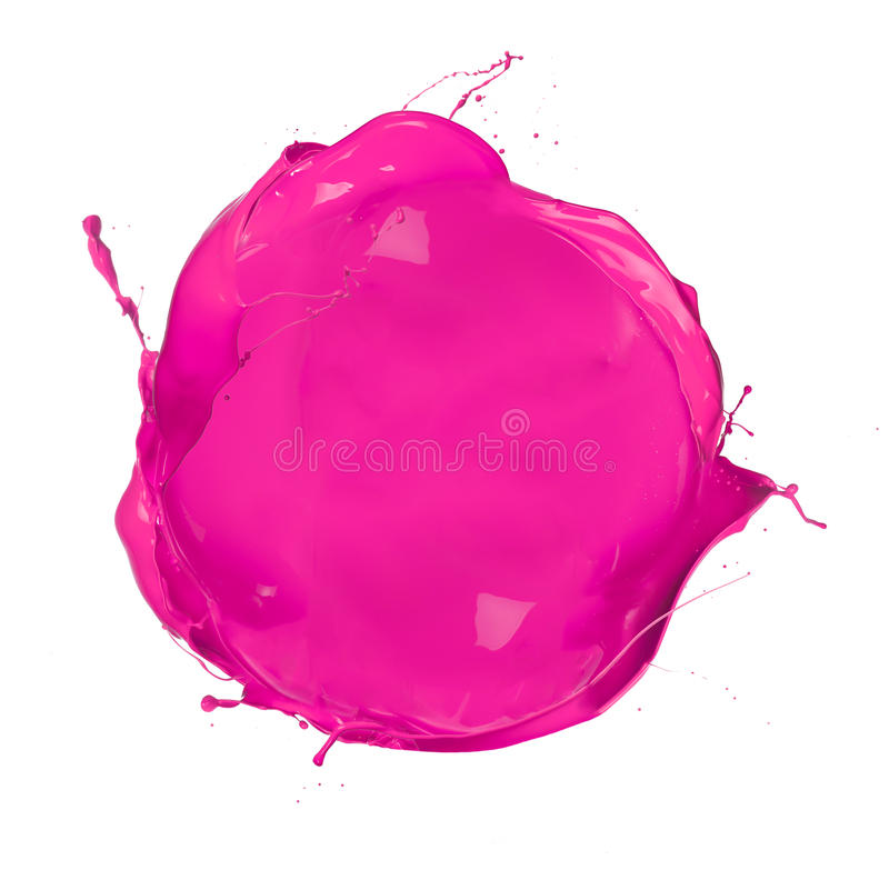 Colored circle stock image