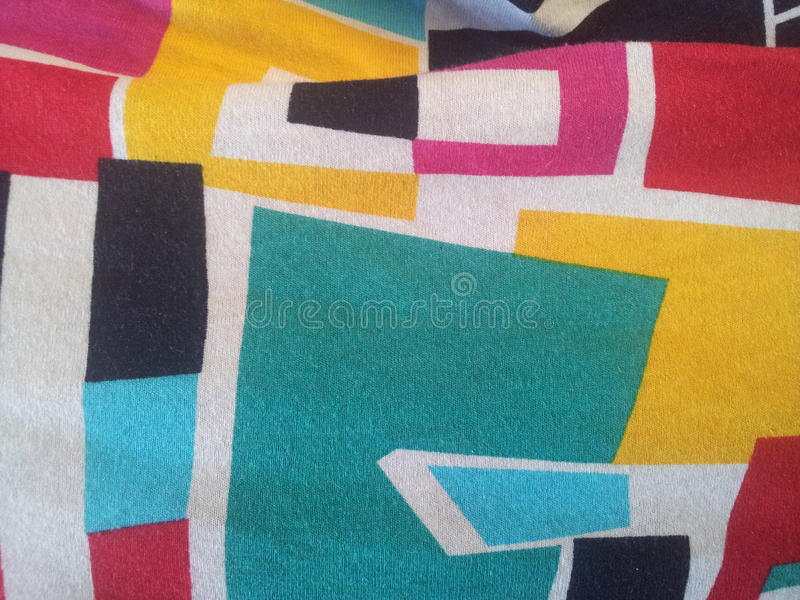 Colored cloth royalty free stock photography