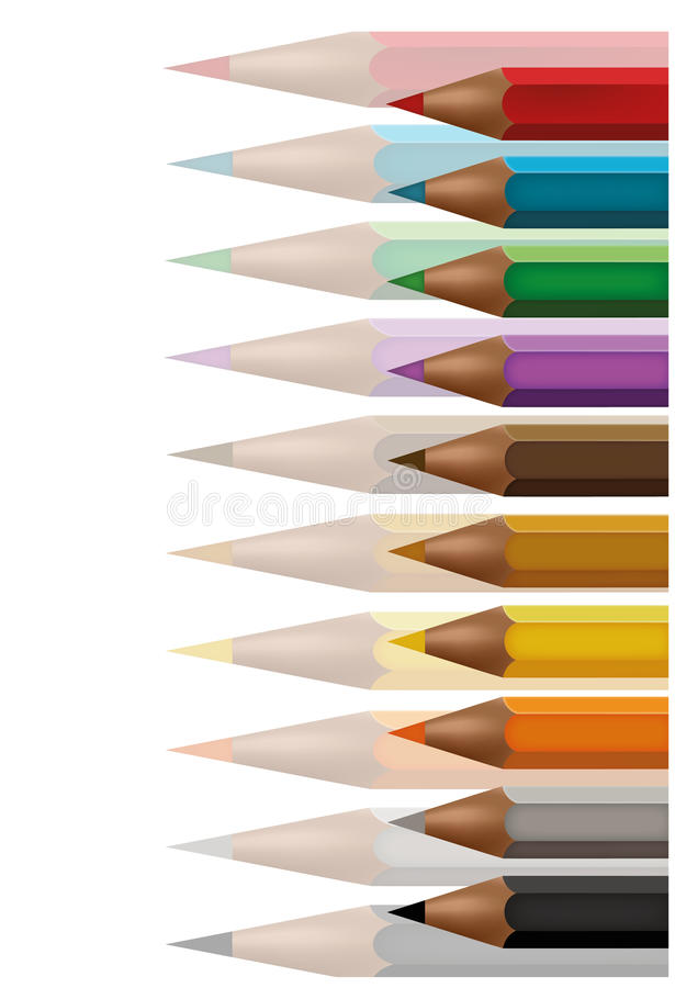Free Colored Crayons Background Royalty Free Stock Image - 20537616