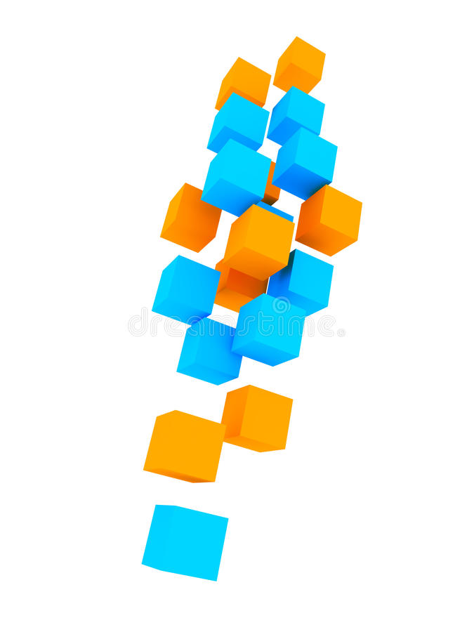 Download Colored Cubes Stock Photos - Image: 16307283