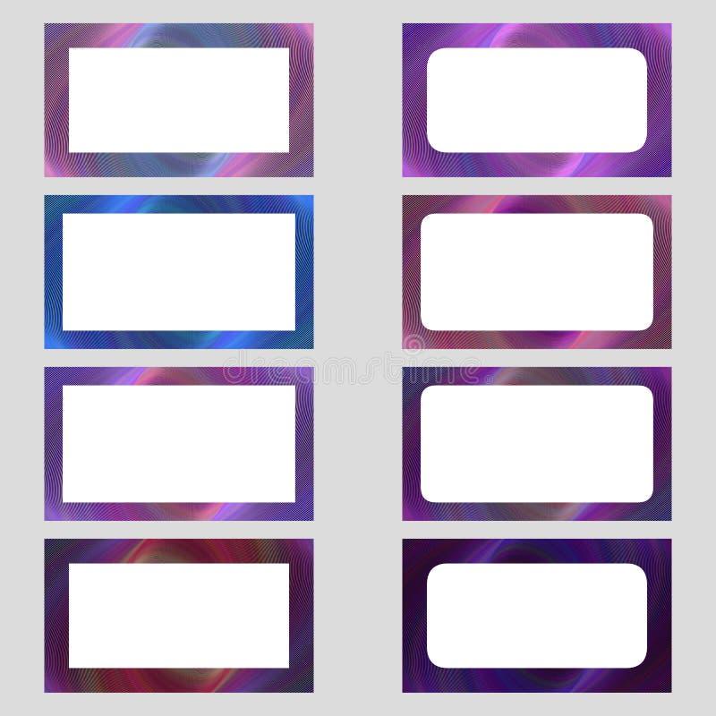 business card frame