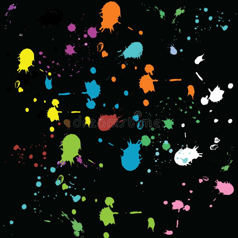 Download Colored Drops. Vector. Stock Photos - Image: 9948103