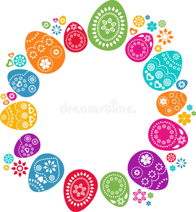 Free Colored Easter Eggs Royalty Free Stock Photo - 13096925