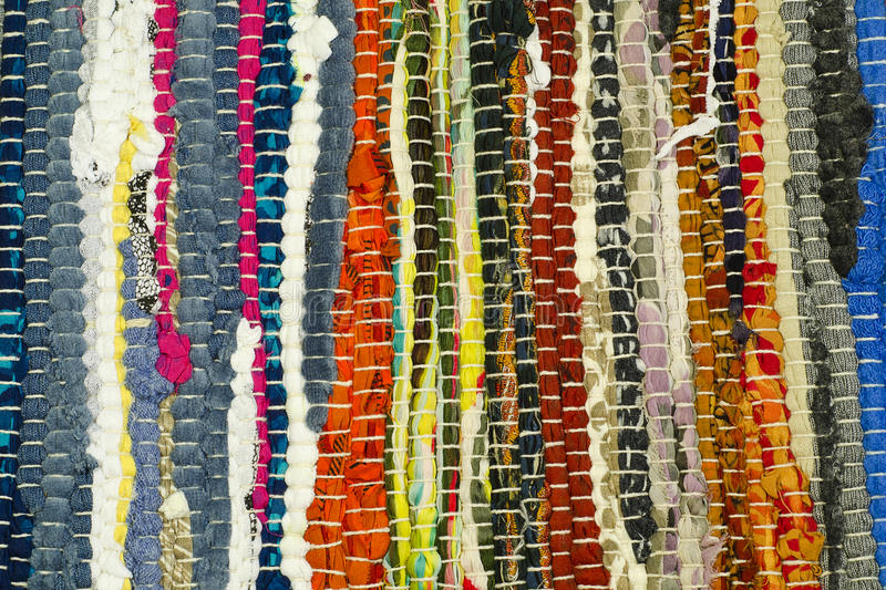 Colored fabric royalty free stock images