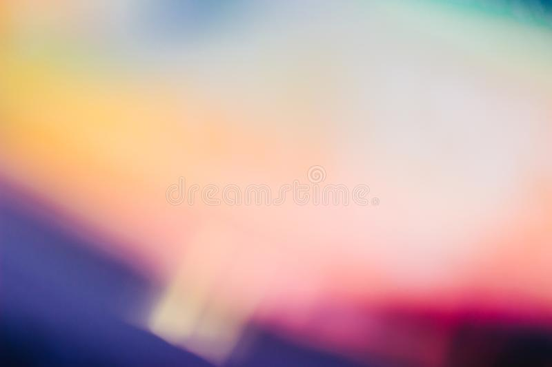 Holographic abstract background of neon colors royalty free stock photos