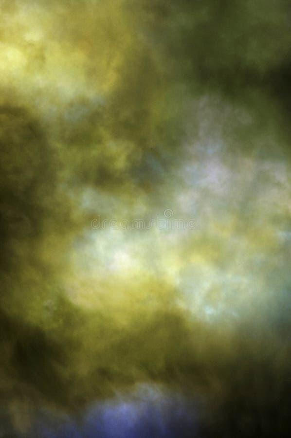 Colored fog green texture stock photos