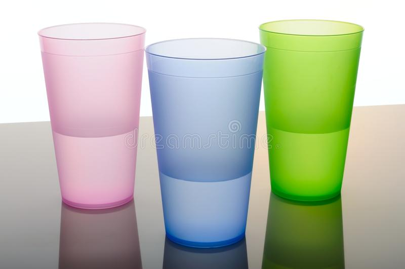 Download Colored Glasses Of Frosted Plastic Stock Images - Image: 19410404