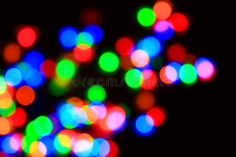 Download Colored Glowing Blur Lights Stock Photo - Image of light, background: 12238376
