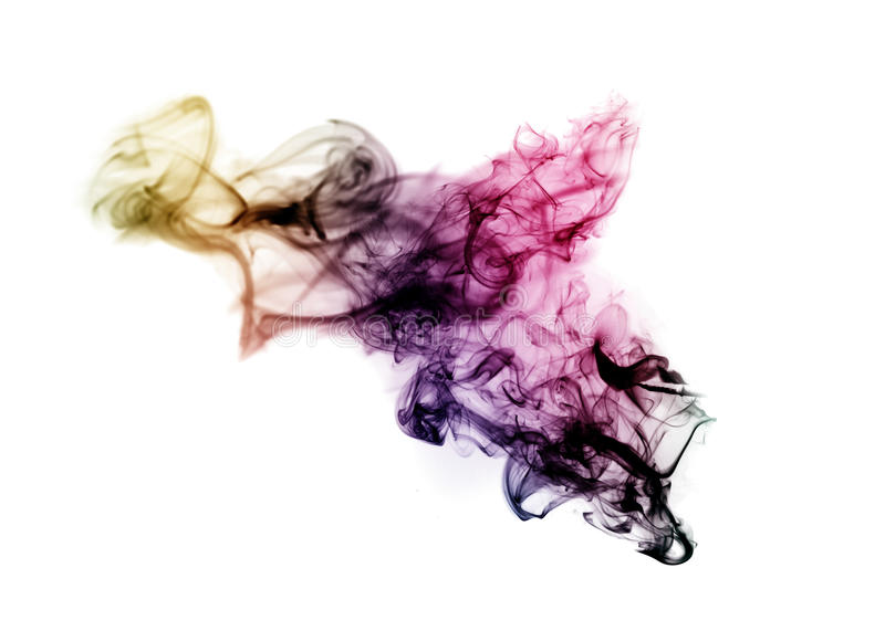 Download Colored With Gradient Blurred Fume Stock Photo - Image: 11438898