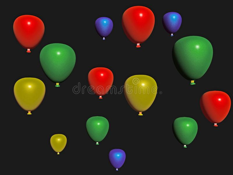 Baloons vector illustration