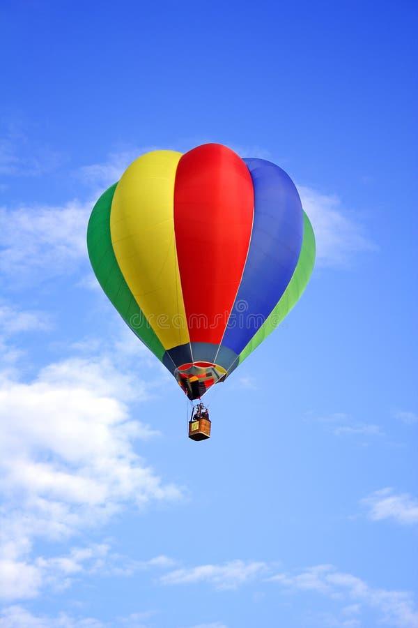 Colored Hot-air Ballon Royalty Free Stock Photos