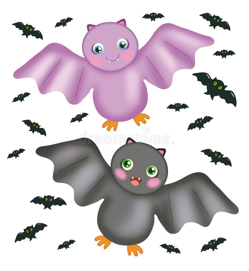 Bats royalty free stock photography
