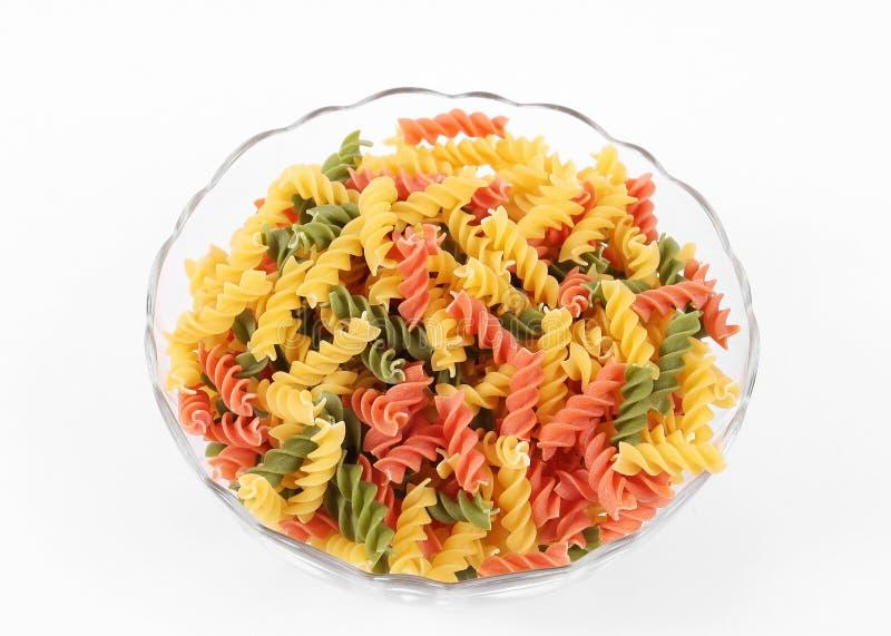 Download Colored Italian pasta stock photo. Image of cuisine, glass - 19403668