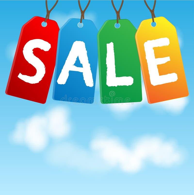 Download Colored labels sales stock vector. Illustration of encouragement - 32332715