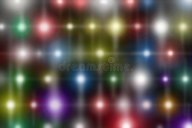 Colored Lights royalty free illustration