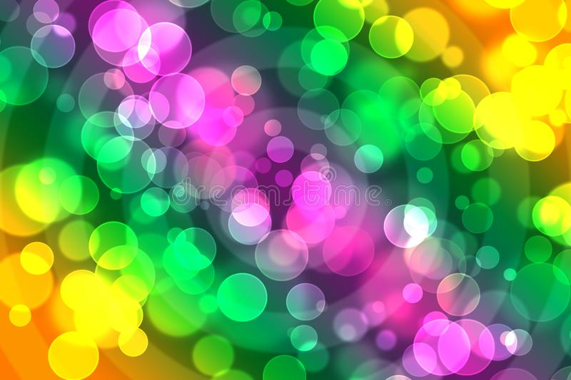 Colored lights background royalty free stock photography